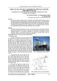Động lực học cần trục container đặt trên tàu có kể đến tính đàn hồi của cáp