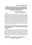 Nghiên cứu ứng dụng kỹ thuật hấp phụ miễn dịch vi hạt đánh dấu huỳnh quang phát hiện kháng thể kháng HLA huyết thanh bệnh nhân suy thận mạn tính dự kiến ghép thận