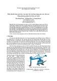 Điều khiển bám quỹ đạo của máy bốc dỡ than dạng gàu xúc liên tục bằng phương pháp dự đoán mô hình