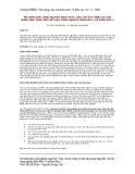 Mô hình khu công nghiệp sinh thái: Tiêu chí xây dựng và khả năng ứng dụng đối với khu công nghiệp Biên Hòa 1 và Biên Hòa 2