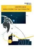 Báo cáo Thúc đẩy chuyển dịch năng lượng tái tạo toàn cầu