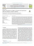 Sorption characteristics of iodide on chalcocite and mackinawite under pH variations in alkaline conditions