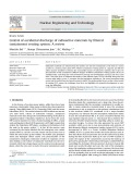 Control of accidental discharge of radioactive materials by filtered containment venting system: A review