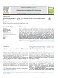 Positive or negative? Public perceptions of nuclear energy in South Korea: Evidence from Big Data