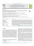 Determination of reaction kinetics during vitrification of radioactive liquid waste for different types of base glass