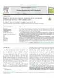 Impact of thermal and chemical treatment on the mechanical properties of E110 and E110G cladding tubes