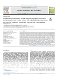 Evaluation of effectiveness of fault-tolerant techniques in a digital instrumentation and control system with a fault injection experiment