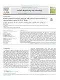 Room-temperature tensile strength and thermal shock behavior of spark plasma sintered W-K-TiC alloys