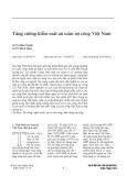 Tăng cường kiểm soát an toàn nợ công Việt Nam