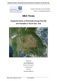 Master of Business Administration: Diagnostic Study on Renewable Energy Potential and Feasibility in South East  Asia