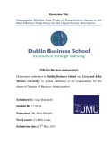 Master of Business Administration: Free trade or protectionism serves as the most effective trade policy