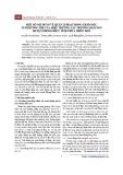 Một số nội dung về quản lí hoạt động chăm sóc, nuôi dưỡng trẻ của hiệu trưởng các trường mầm non huyện Phong Điền, tỉnh Thừa Thiên Huế