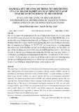 Đánh giá mức độ công bố thông tin môi trường của các doanh nghiệp sản xuất niêm yết tại Sở Giao dịch chứng khoán tp. Hồ Chí Minh