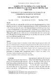 Nghiên cứu tác động của cạnh tranh đến sự ổn định của các ngân hàng thương mại Việt Nam