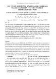 Các yếu tố ảnh hưởng đến rủi ro thanh khoản ngân hàng nghiên cứu thực nghiệm: Trường hợp Việt Nam