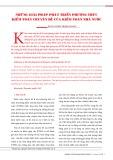Những giải pháp phát triển phương thức kiểm toán chuyên đề của kiểm toán nhà nước