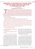 Định hướng và giải pháp nâng cao chất lượng công tác tổ chức kiểm toán chuyên đề của kiểm toán nhà nước