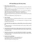 Chỉ số KPI về quan hệ công chúng