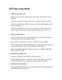 Chỉ số KPI về lòng trung thành