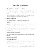 Chỉ số KPI về tuyển dụng