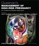 An evidence-based approach in management of high risk pregnancy: Part 1