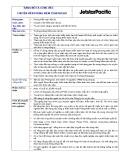 Mô tả công việc Chuyên viên Kiểm toán nội bộ