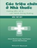 Các triệu chứng của ở nhà thuốc: Hướng dẫn xử lý các bệnh thông thường
