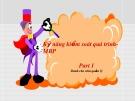 Bài giảng chuyên đề: Kỹ năng quản lí theo quá trình - MBP