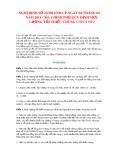 Nghị định Số 22-2011-NĐ-CP ngày 04 tháng 04 năm 2011 của Chính phủ quy định mức lương tối thiểu chung