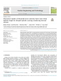 Theoretical models of threshold stress intensity factor and critical hydride length for delayed hydride cracking considering thermal stresses