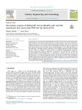 Uncertainty analysis of ROSA/LSTF test by RELAP5 code and PKL counterpart test concerning PWR hot leg break LOCAs