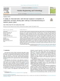 A study on characteristics and internal exposure evaluation of radioactive aerosols during pipe cutting in decommissioning of nuclear power plant