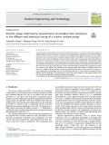 Particle image velocimetry measurement of complex flow structures in the diffuser and spherical casing of a reactor coolant pump