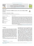 Neutronic assessment of BDBA scenario at the end of Isfahan MNSR core life