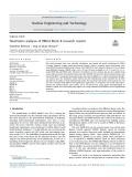 Neutronics analysis of TRIGA Mark II research reactor