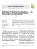 Comparison of proliferation resistance among natural uranium, thoriumeuranium, and thoriumeplutonium fuels used in CANada Deuterium Uranium in deep geological repository by combining multiattribute utility analysis with transport model