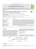 Neutron activation analysis: Modelling studies to improve the neutron flux of AmericiumeBeryllium source