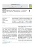 Effects of temperature and solution composition on evaporation of iodine as a part of estimating volatility of iodine under gamma irradiation