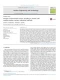 Analysis of inconsistent source sampling in monte carlo weight-window variance reduction methods