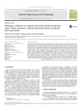 Hydrogen's influence on reduced activation ferritic/martensitic steels' elastic properties: density functional theory combined with experiment