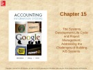 Lecture Accounting information systems: Chapter 15 - Richardson, Chang, Smith