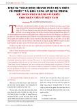 """IFRS 02 """"Giao dịch thanh toán dựa trên cổ phiếu"""" và khả năng áp dụng trong kế toán phát hành cổ phiếu cho nhân viên ở Việt Nam"""