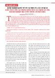 Kinh nghiệm quốc tế về vai trò của các cơ quan kiểm toán tối cao trong kiểm toán xác định giá trị doanh nghiệp nhà nước cổ phần hóa