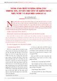Nâng cao chất lượng công tác thông tin, tuyên truyền về kiểm toán nhà nước và Đại hội ASOSAI 14