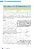 Một số mô hình tính toán phát tán chất phóng xạ trong môi trường không khí