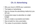 Lecture Retailing in the 21st Century - Chapter 8: Advertising