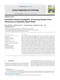 Simulation based investigation of focusing phased array ultrasound in dissimilar metal welds