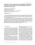 Method for the analysis of temporal change of physical structure in the instrumentation and control life cycle