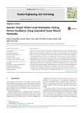 Reactor vessel water level estimation during severe accidents using cascaded fuzzy neural networks
