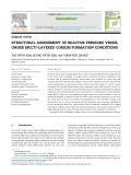 Structural assessment of reactor pressure vessel under multi layered corium formation conditions